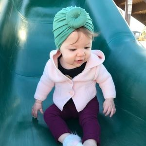 Other - Baby Girl Top Knot Turban
